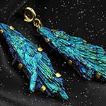 Solid brass and large kyanite weights