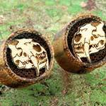Zebrawood Sabertooth Tiger plugs