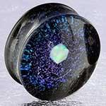 Raw opal galaxy plugs (Grape)