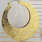 Brass filigree blade hoops