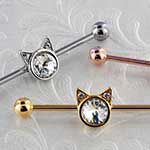Kitty industrial barbell set