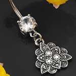 Vintage lotus navel