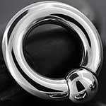 Ball and socket ring