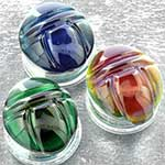 Pyrex glass Scarab plugs