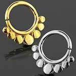 Circles seamless septum ring