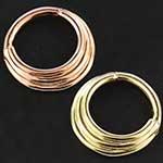 14k gold Hiranya clicker ring